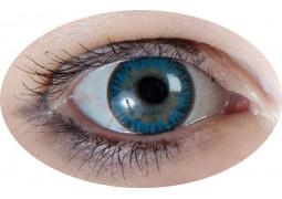 Lentilles de contact iris bleu