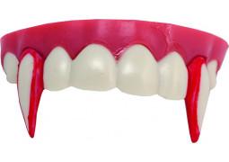 Dentier vampire avec sang