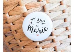 Badge Mère du marié