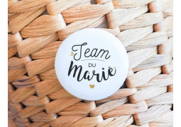 Badge Team du marié