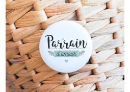 Badge Parrain d'amour