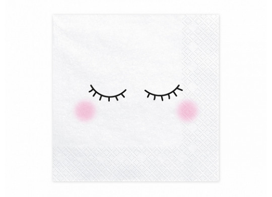 Serviettes yeux