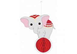 Éléphant circus alvéolée