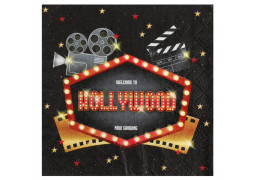 20 serviettes Hollywood