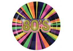 10 assiettes années 80