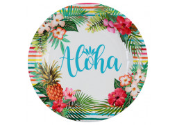 10 assiettes aloha