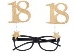 """Lunettes anniversaire """"18"""""""