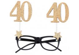 """Lunettes anniversaire """"40"""""""