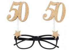 """Lunettes anniversaire """"50"""""""