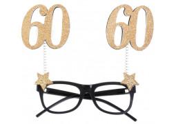 """Lunettes anniversaire """"60"""""""