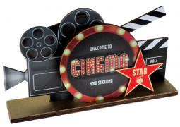 Centre de table cinéma