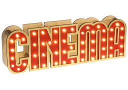 Centre de table cinéma lumineux