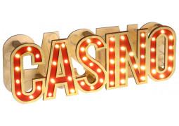 Centre de table casino lumineux