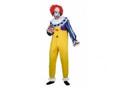Costume homme clown de l'horreur