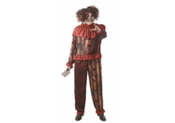 Costume homme clown diabolique