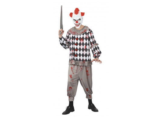 Costume ado clown terrifiant