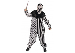 Costume homme clown arlequin