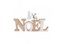 Centre de table lettre bois Noël