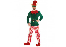 Costume adulte lutin de Noël