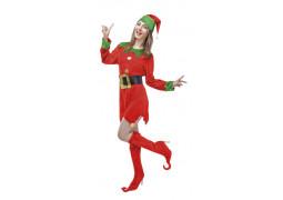 Costume adulte femme lutin de Noël