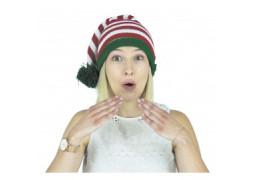 Bonnet elfe tricot