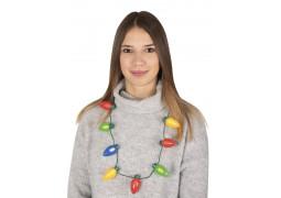 Collier guirlande de Noël lumineuse