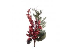 Pic décoratif baies rouges