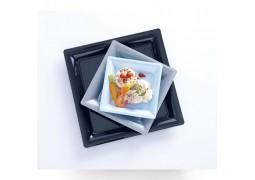 Assiettes carrées petit modèle