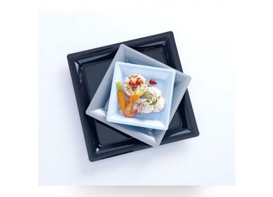 Assiettes carrées petit modèle 16.50 cm