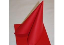 Serviettes intissées rouges