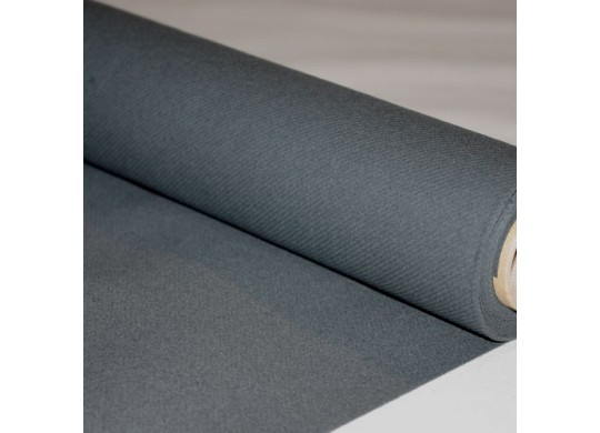 Nappe intissée stone grey (gris foncé)