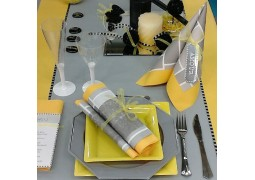Nappe intissée passion yellow