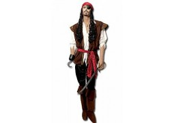 Costume homme pirate des caraibes