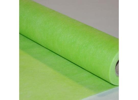 Chemin de table intissé économique vert lime
