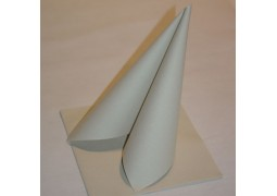 Serviettes intissées peeble stone (beige)