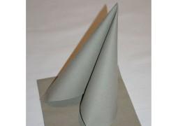 Serviettes intissées taupe (golden grey)