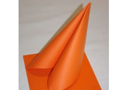 Serviettes intissées oranges