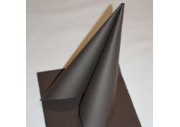 Serviettes intissées cacao (chocolat)