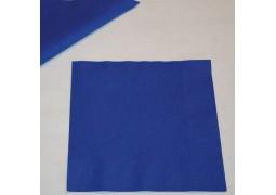 Serviettes papier royal bleu (marine)