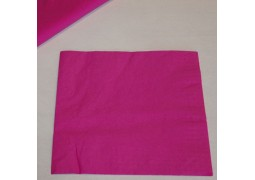 Serviettes papier framboises