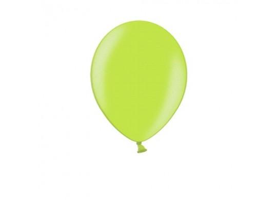 Ballon uni 27 cm standard vert pomme