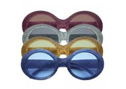 Lunette disco bleue
