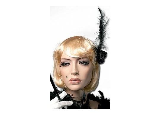 Perruque charleston blonde - Déguisement