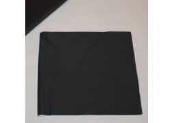 Serviettes cocktail papier noires