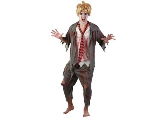 Costume étudiant sanglant