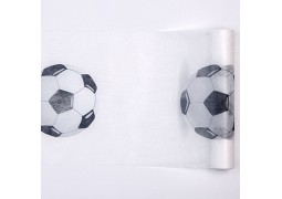 Chemin de table ballon de Foot
