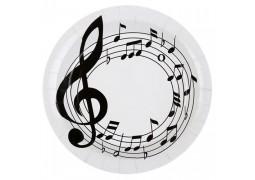 Assiettes musique