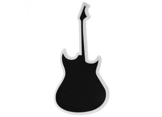 Ardoise guitare porte menu