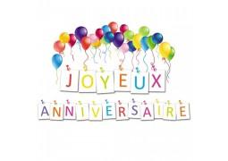 10 Cartes anniversaire