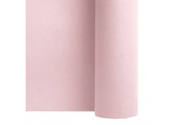 Chemin de table intissé blush pink (rosé clair)